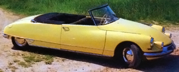 Citroen DS19 Convertible
