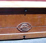Cavalier Cedar Chest with Mayflower Ship carving