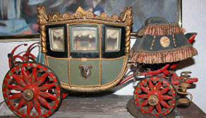 Napoleonic Coach Side View
