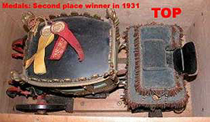 Napoleonic Coach - Top View and Medals