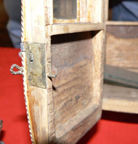 Napoleonic Coach in construction -- Door with working lock