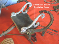 Napoleonic Coach in construction -- footman board ornament