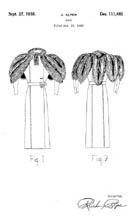 Coat Design Patent D111483