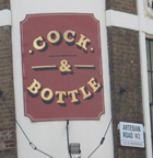 Cock and Bottle in Notting Hill