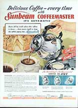 Sunbeam Coffeemaster Ad LIFE Nov 12, 1947