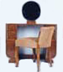 A Coiffeuse with Chair, F. G. Saddier (France ca. 1930)