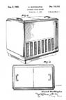 Design Patent for Coca Cola Vending Machine D-110473