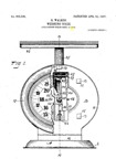 The Columbia Family Scale  Landers Frary and Clark Patent No. 850,508