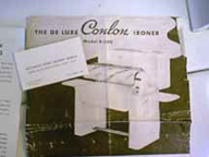 Conlon  Ironer Manual