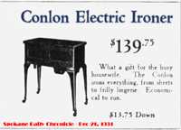Conlon ad from Spokane, 1931