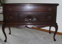 Continental Cedar Chest Queen Anne Style