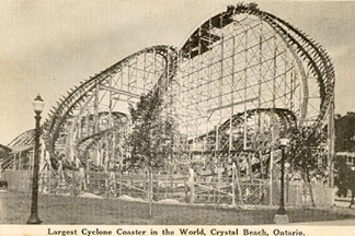 Henry Traver Crystal Beach Cyclone Roller Coaster