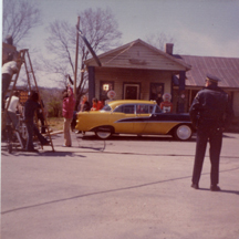 Production Stll photo from film W.W. and the Dixie Dance Kings