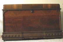 Waynette's Cavalier Cedar Chest Closed