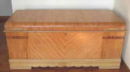 1940s Cavalier Cedar Chest closed