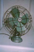 Diehl Fan before restoration