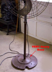 Diehl Floor Fan Base