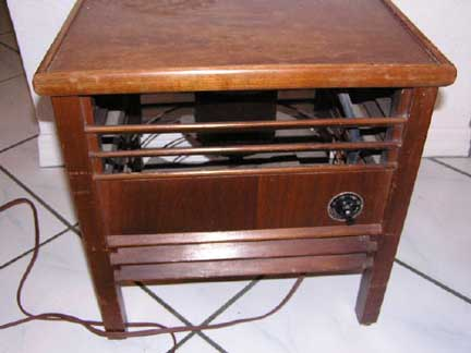Diehl Model 1672-2 Fan Table