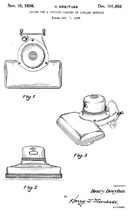 Henry Dreyfuss Design Patent D-101,858 for the Hoover Model 541