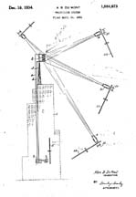 DuMont Television System Patent No. 1,984,693