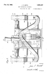 US Electrical Tool -- Dust Separator Patent No. 1,991,337
