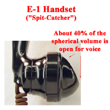 E-1 Anti-Feedback Microphone