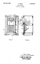 Kurt Emde patent for the Zenith 9H pull-out dial No 2,447,572