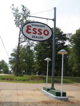 ESSO Sign at Montpelier
