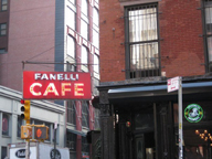Fanelli Cafe, New York Exterior