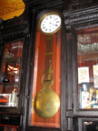 Tall Clock at Fanellis Cafe NYC