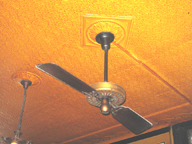 Ceiling Fan at Fanelli Cafe (SoHo, NYC)