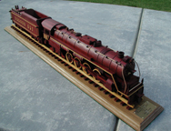Scale Model of a Locomotive