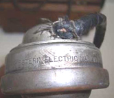 World War I Western Electric Military Field Telephone - exterior