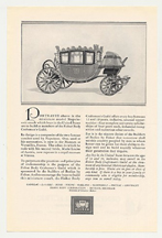 Napoleonic Coach - Fisher Body Ad