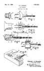 Frantz Electrical Plug Patent No. 1,611,014