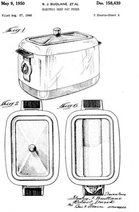 FryRyte Patent Drawing