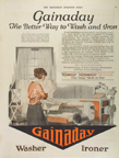 Gainaday Ironer Ad