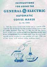 General Electric Model 129P8 Instructions, Page 1