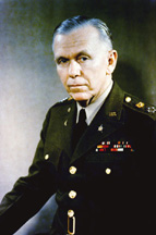 Portrait of General George C. Marshall