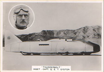 the 1938 Eyston Thunderbolt Land Speed Record Car