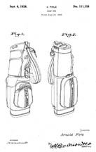 Golf Bag Design Patent D111138