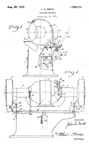 US Electrical Tool -- Bench Grinder Patent No. 1,550,712