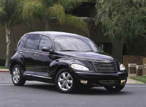 PT Cruiser Customized as 39 Plymouth
