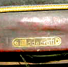 Modecraft Chair, label