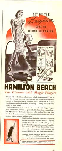3-24-41 Ad for the Hamilton-Beach Vacuum