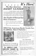 AFSMC Ad for the Handy sander