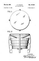 Hassock Fan Design Patent D157501