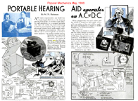 build-it-yourself hearing aids[ca 1938]