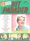 Hit Parader Cover from April, 1958