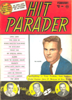 Hit Parader Cover from February 1958